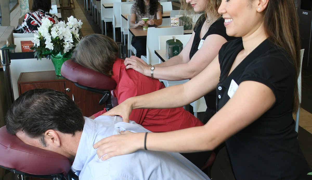 Whole Foods Daily Chair Massage