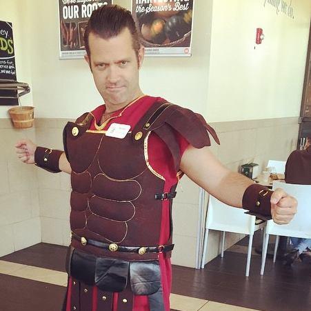 John as Maximus Gluteus