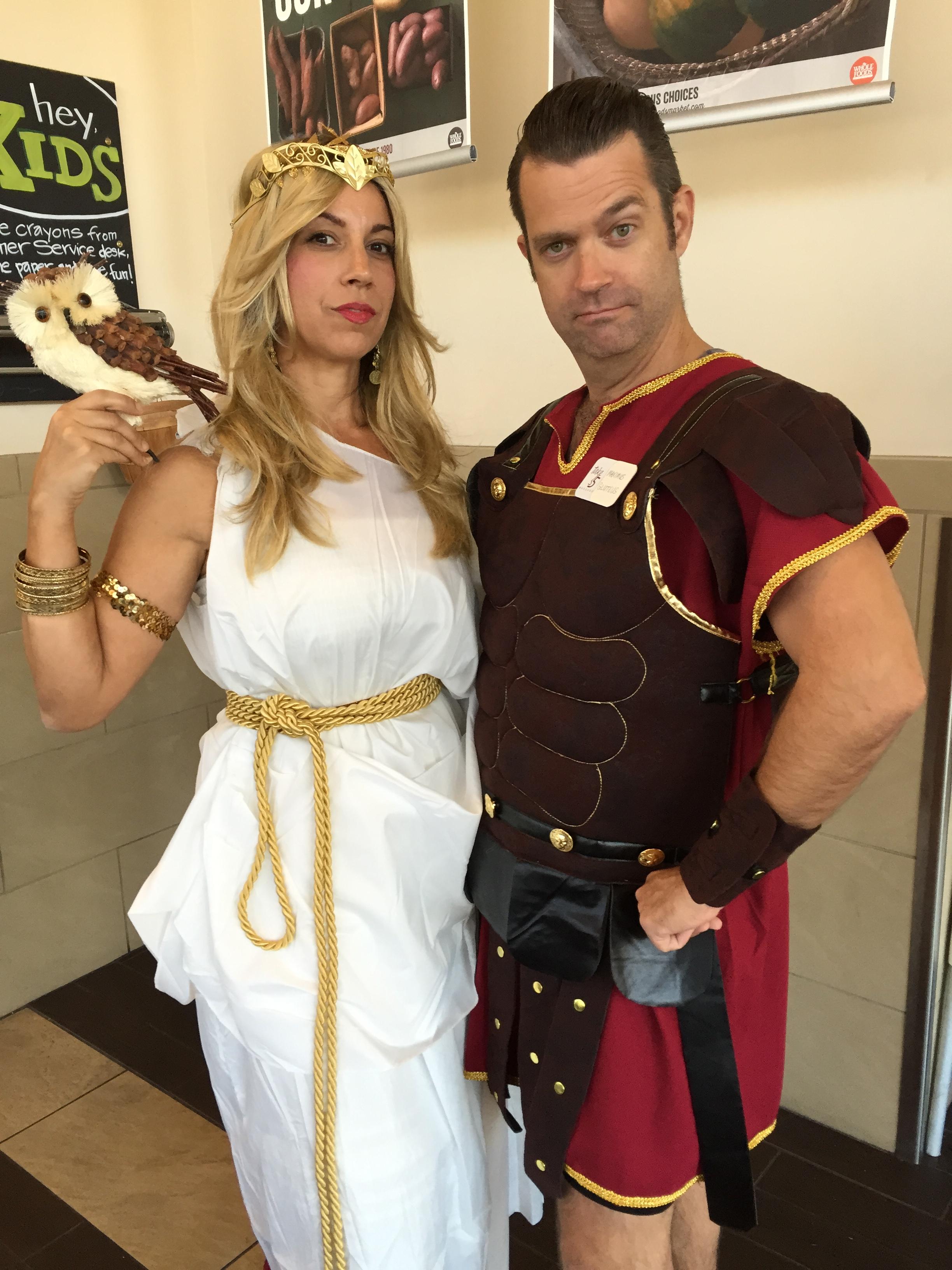 Maya Athena John gladiator Maximus Gluteus