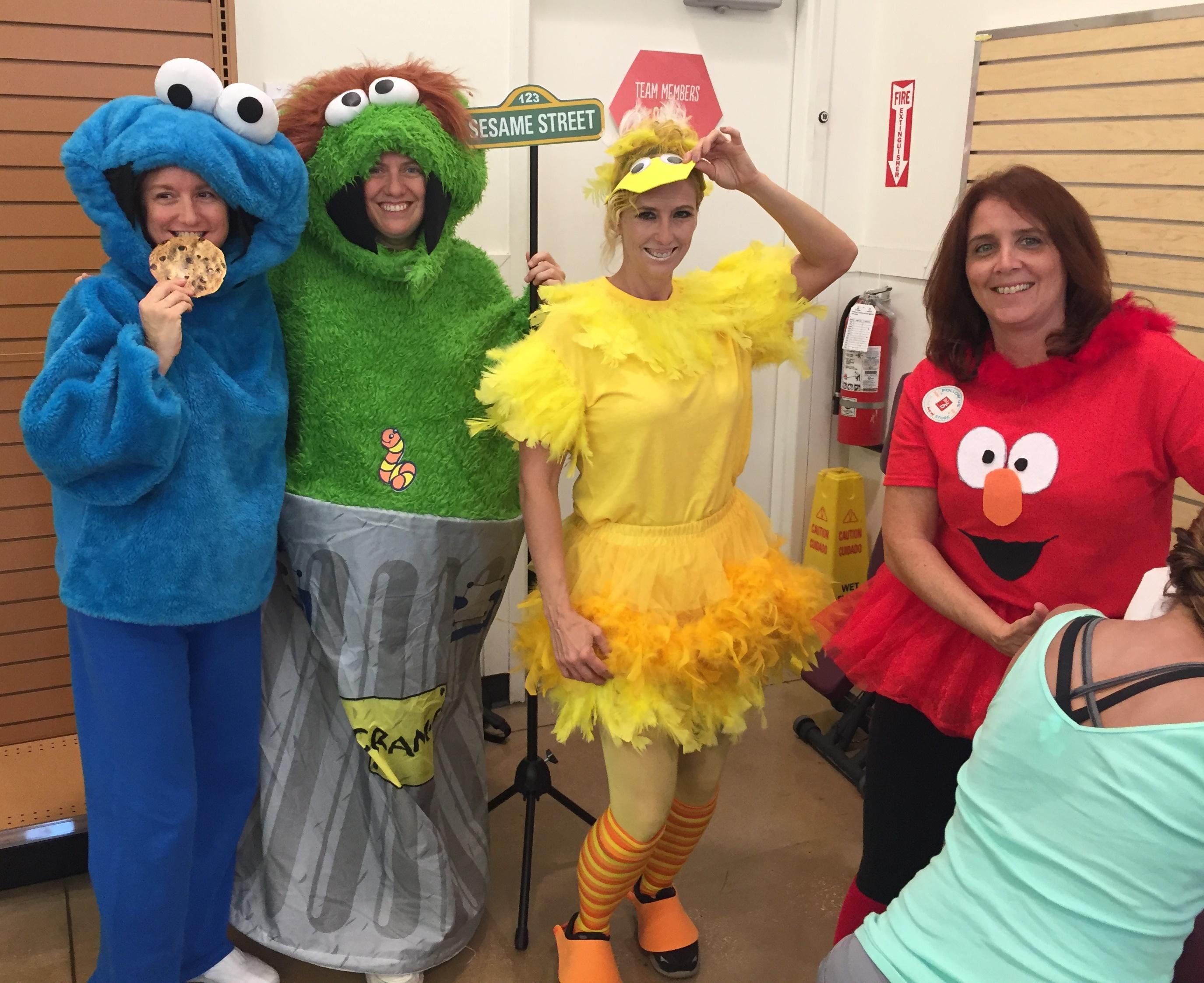 Sesame Street Crowd