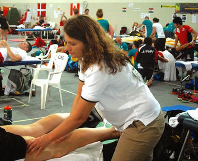 Massage Therapy Soars at the Olympics